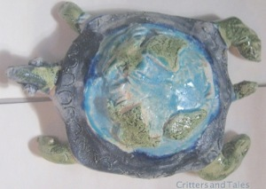 Turtle with Earth 50 million years from now