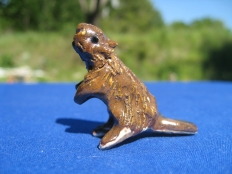 1 inch Beavers available as Pendants and Miniatures on ETSY