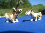 Guernsey Cow Miniatures - 3 to 4 cm long