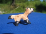 Red Fox Miniature - with Link to Red Fox Pendants on Easy