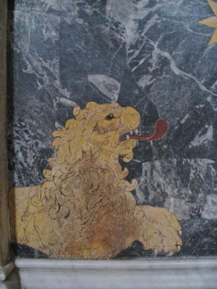 Marble Lion Rome