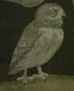 Bird in Last Supper Fresco Floence