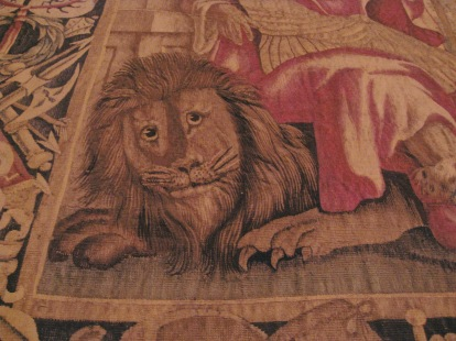 Laurentian Library Lion Florence