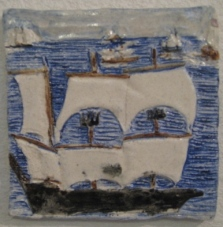 Tall Ships Tile
