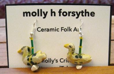 View on ETSY: https://www.etsy.com/ca/listing/506697363/cape-breton-plaid-duck-earrings