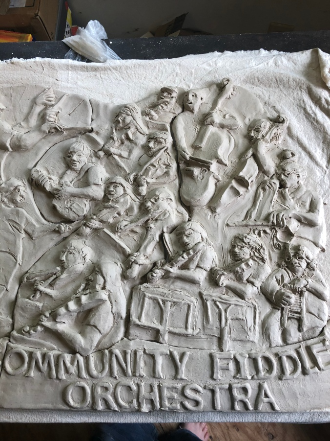Clay Carving Fiddle Orchestra 3